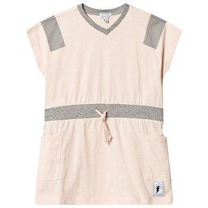 Civiliants V-Neck Dress Cream Tan 92/98 cm