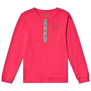 Bergans Myske Wool Youth Shirt Dk Sorbet Solid Dk Grey 152 cm (11-12 Years)
