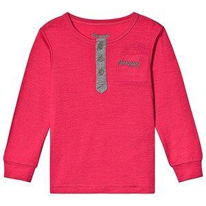 Bergans Myske Wool Kids Shirt Dk Sorbet Solid Grey Solid Dk Grey 98 cm (2-3 Years)