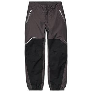 Bergans Sjoa 2 Layer Youth Pant Solid Charcoal Black Solid Grey 164 cm (13-14 Years)