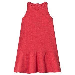 The BRAND BEACH DRESS RED MELANGE 80/86 cm