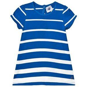 Petit Bateau Robe Mc Riy/Ma Blue 12 Months