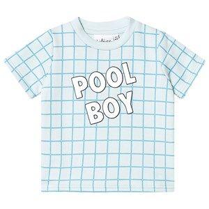 Tobias & The Bear Check Pool Boy Tee 6-12 months