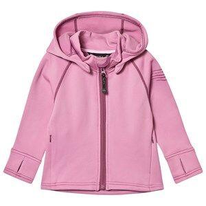 Isbjrn Of Sweden Panda Fleece Hoody Kids Dusty Pink 86/92 cm