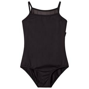 Image of Bloch Black Tia Bow and Diamante Leotard 6-7 years
