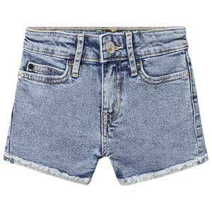 Image of Calvin Klein Jeans Blue Denim Shorts 8 years