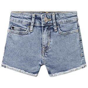 Image of Calvin Klein Jeans Blue Denim Shorts 4 years