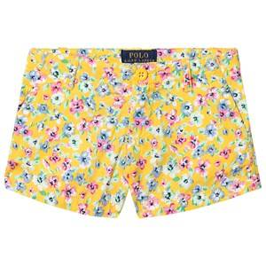 Ralph Lauren Floral Shorts Yellow 8 years