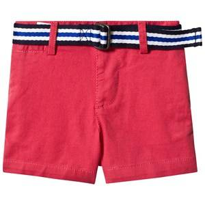 Ralph Lauren Red Belted Chino Shorts 6 months