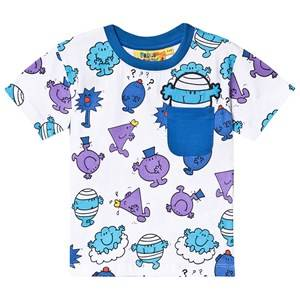 Fabric Flavours Mr. Men Print Tee Blue 2-3 years
