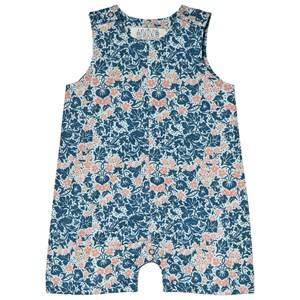 Image of Anve For The Minors Baby Romper Bysans Blue 1-2 Months