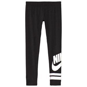 Image of NIKE Black Sportswear Graphic Leggings XS (6-8 years)