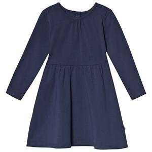 A Happy Brand Long Sleeve Dress Navy 86/92 cm