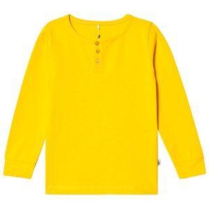 A Happy Brand Grandpa Tee Yellow 122/128 cm
