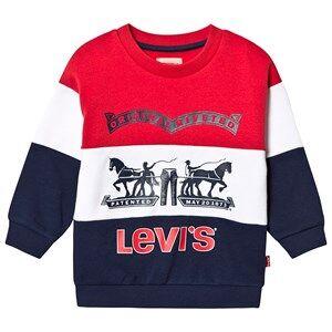 Image of Levis Kids Oversize Logo Sweatshirt Navy 16 years