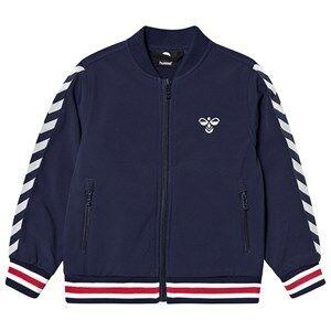 Hummel James Jacket Black Iris Shell jackets