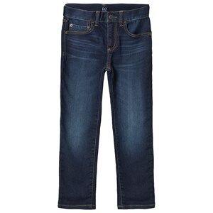 GAP Superdenim Slim Jeans Dark Wash 8 (8 Years)