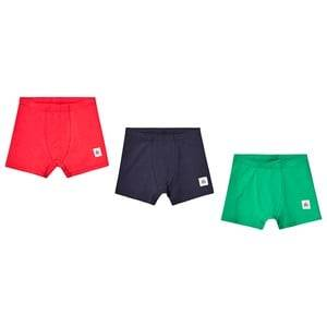 A Happy Brand 3-Pack Boxers Green/Navy/Red 122/128 cm