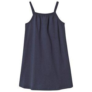 A Happy Brand Gathered Dress Navy 122/128 cm