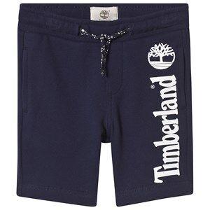 Timberland Navy Logo Sweat Shorts 4 years