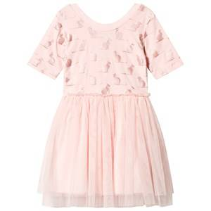 Hootkid Pink Cat print Tutu Dress 1 years