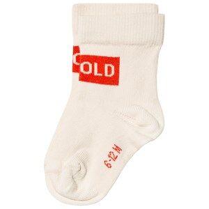 Tinycottons Smile Medium Socks Cream/Red 4 Years