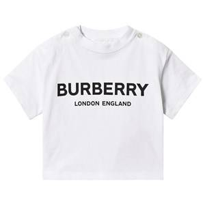 Burberry Robbie Branded Tee White 12 months