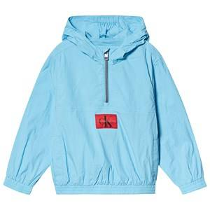 Image of Calvin Klein Jeans Pale Blue Packable Anorak with Bumbag 12 years