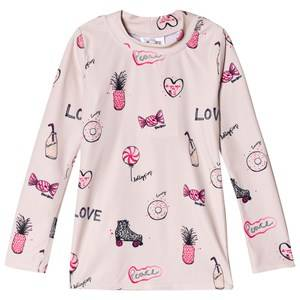 Image of Soft Gallery Astin Sun Shirt Rose Cloud Candy 3 years
