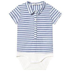 ebbe Kids Fridolf Shirt Baby Body Navy Stripes 62 cm