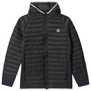 Henri Lloyd Black Padded Hodded Jacket 14-15 years