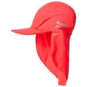 Reima Sunhat, Turtle Neon Red Sun hats
