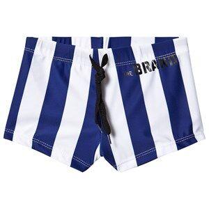 The BRAND Swim Trunks Blue Stripe 104/110 cm