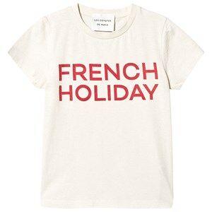 Les Coyotes De Paris Remi T-Shirt Cream 8 Years