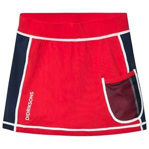 Didriksons Coral UV-Skirt Chili Red 80 cm (9-12 Months)