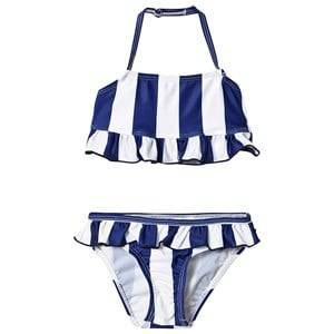 The BRAND Bow Bikini Blue Stripe 104/110 cm