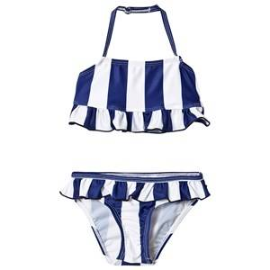 The BRAND Bow Bikini Blue Stripe 80/86 cm