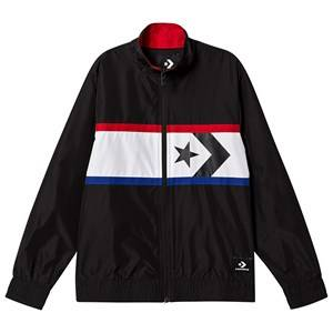 Converse Black and Red Star Chevron Woven Windbreaker 8-10 years