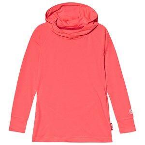 Reima Hoodie, Larus Neon Red 140 cm (9-10 Years)