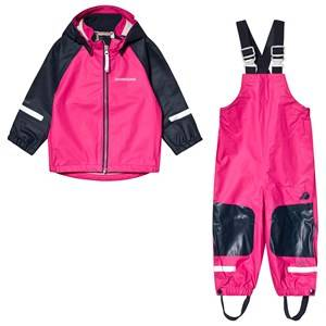 Didriksons Stormman Kids Set 2 Fuchsia 120 cm (6-7 Years)