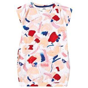 ebbe Kids Zara Dress Peach Splash Art 122/128 cm