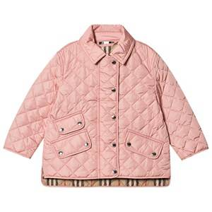 Burberry Diamond Quilted Jacket Dusty Pink 4 years