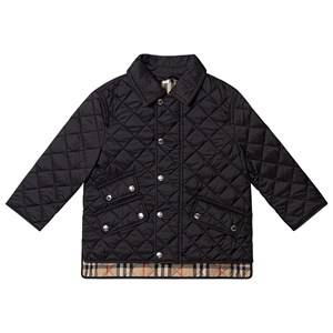 Burberry Diamond Quilted Jacket Black 12 years