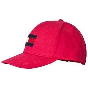 Tommy Hilfiger Flag Baseball Cap Red Baseball caps