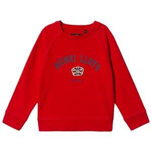 Henri Lloyd Logo Sweatshirt Red 7-8 years