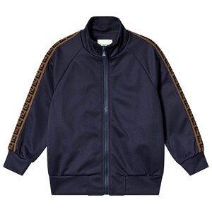 Fendi Tape Logo Track Jacket Royal Blue 10 years