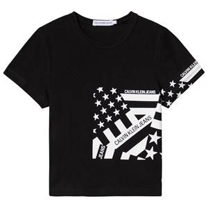 Image of Calvin Klein Jeans Flag Tee Black 4 years
