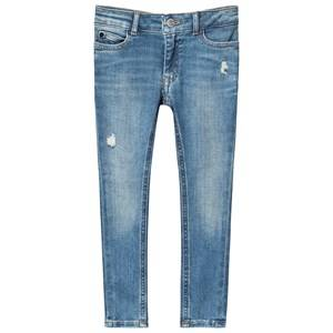 Image of Calvin Klein Jeans Destruct Jeans Pale Blue 4 years
