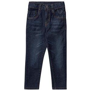 Image of Hummel Five Pants Dark Denim 104 cm (3-4 Years)