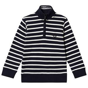 Henri Lloyd Stripe Zip Sweatshirt Navy 14-15 years